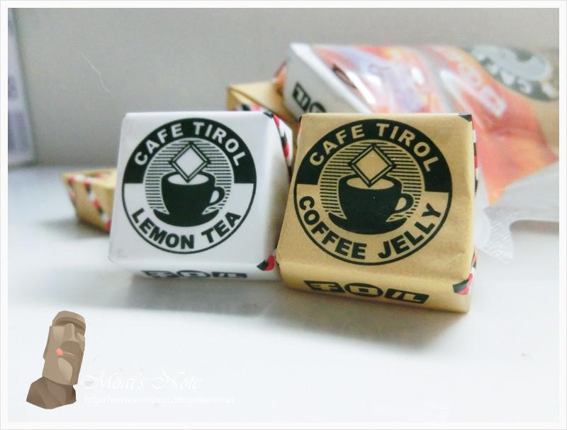 【點心】檸檬茶巧克力&咖啡巧克力~在家裡常備零食非常重要喔!