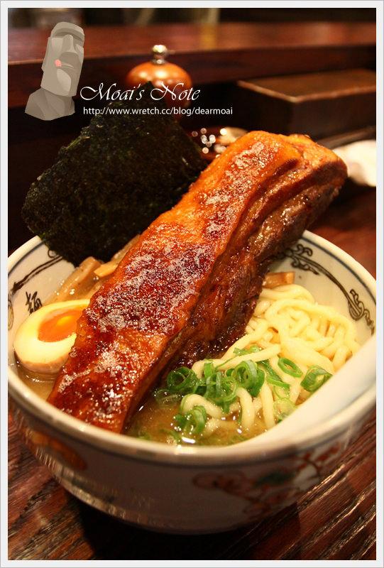 【北市中山區】麵屋武藏‧神山~就是要吃到一本拉麵(限量30碗)