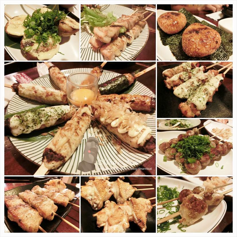 【台南一日遊】鯨吞燒串燒酒場~綜合雞肉串真真美味!