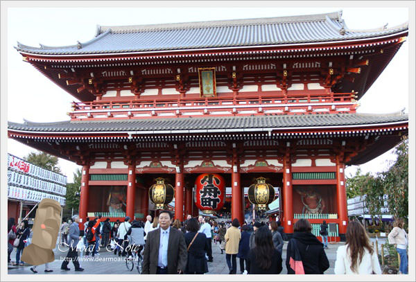 【2013日本東京行】淺草寺‧雷門‧仲見世通~來日本的第一站