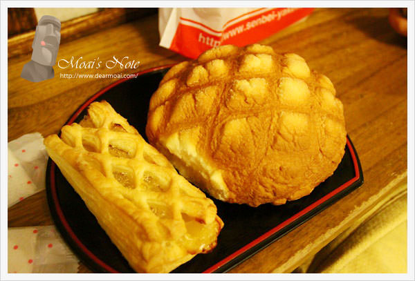 【2013日本東京行】淺草‧花月堂~跟臉一樣大的超好吃波蘿麵包