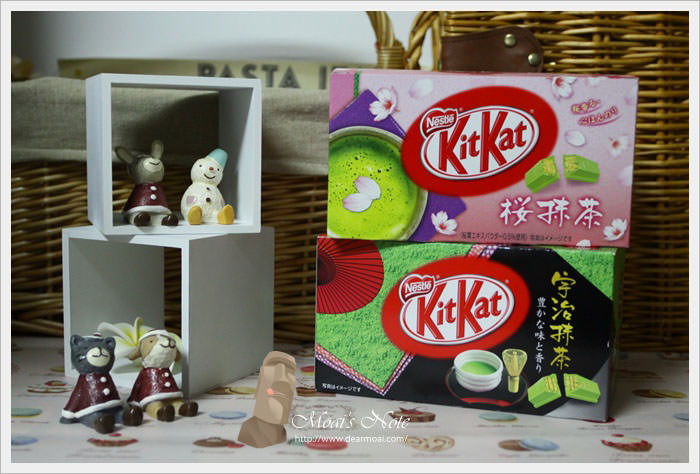 【點心】KITKAT‧奇巧巧克力~宇治抹茶&櫻抹茶
