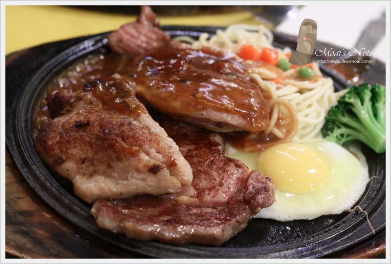 【北市大安區】紫牛牛排館(通化店)~比臉大牛排14盎司吃到翻