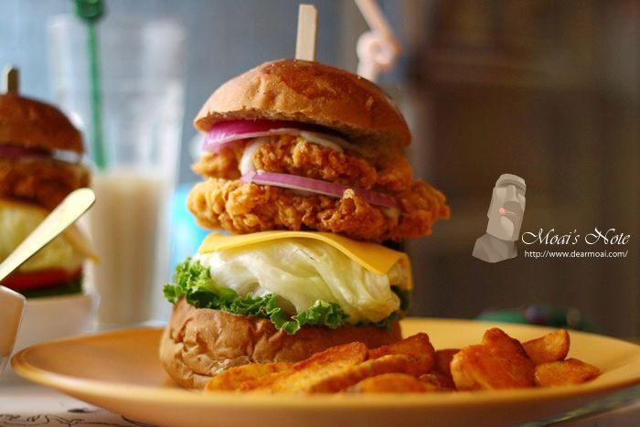 【台中市西區】牛逼洋行~漢堡界的姚明你不可錯過!