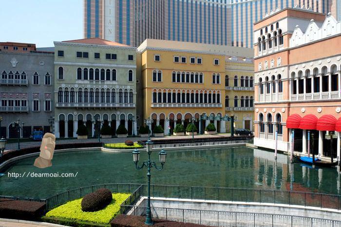 【2014澳門一日吃八餐】澳門威尼斯人度假村酒店之貢多拉船~義大利風情