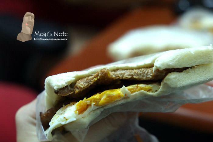 【台中市西區】肉蛋土司~凌晨四點半出發就是要吃到的執念!