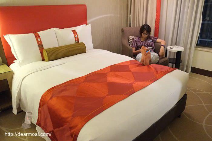 【2014澳門一日吃八餐】澳門金沙城中心假日酒店~四星級酒店舒適豪華好睡很放鬆