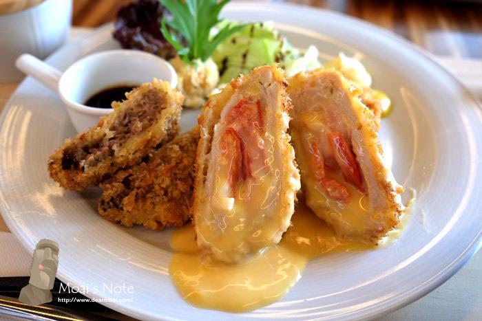 【台中市南屯區】青木和洋食彩AOKI~都市裡的緩步森活餐廳