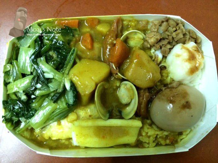 【台中市西區】咕咕園火雞肉飯專賣店(中美店)~平價好吃的咖哩便當