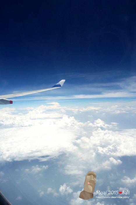 【2015慵懶峇里島】華航飛機餐、五天四夜行程介紹~充滿期待飛向峇里島!