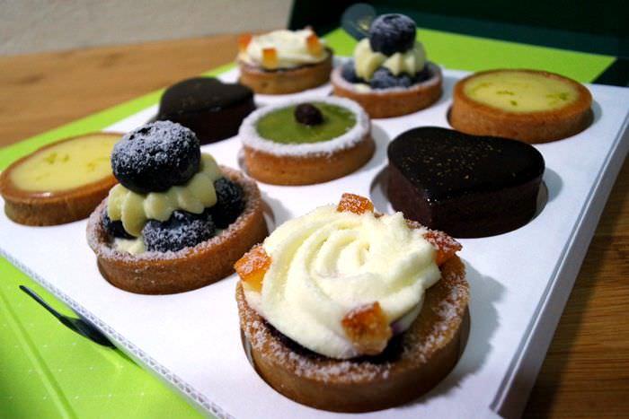 【台中市西屯區】Aux allées vertes 綠廊精品美食烘培坊~精緻迷你甜點塔