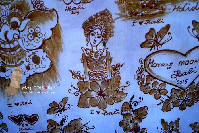 【2015慵懶峇里島】烏布蠟染村~純手工繪出美麗花色