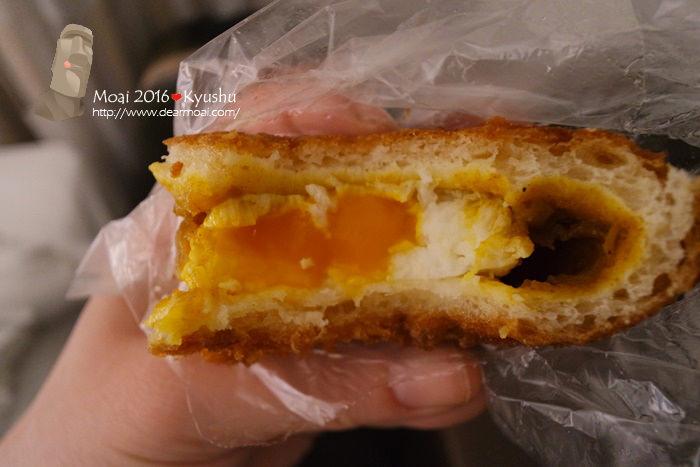 【2016九州找熊本熊】TRANDOR麵包店~博多車站內超好吃的咖哩半熟蛋麵包必買