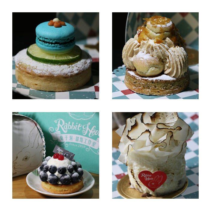 【台中市西區】兔子洞甜點工作室~充滿愛麗絲氛圍的手工甜點
