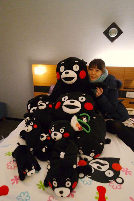 【2016九州找熊本熊】ANA CROWNE PLAZA KUMAMOTO NEW SKY飯店~熊本熊主題房超萌