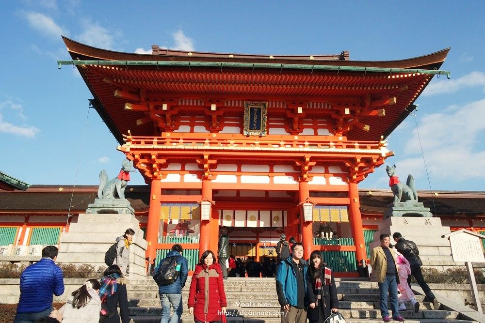 【2016京阪奈貴婦行】京都‧伏見稻荷大社~一生必去一次的千鳥居與美麗莊嚴神社
