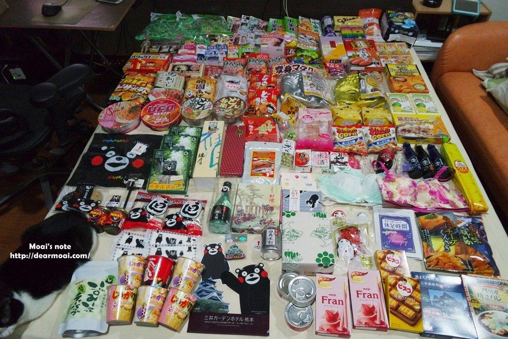 【2016九州找熊本熊】九州熊本福岡博多小倉門司港~必買伴手禮戰利品全部秀出來