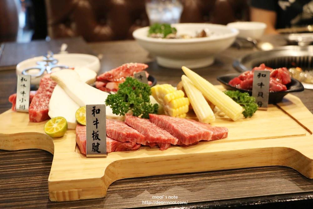 【台中市北屯區】龍八韓式燒肉。黑毛和牛專賣~超好吃極品9+和牛四種組合必點!