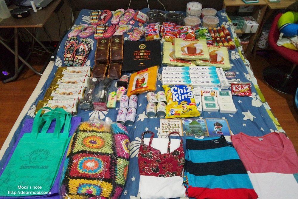 【2015慵懶峇里島】峇里島必買伴手禮~怎麼買都是滿滿一床的戰利品!