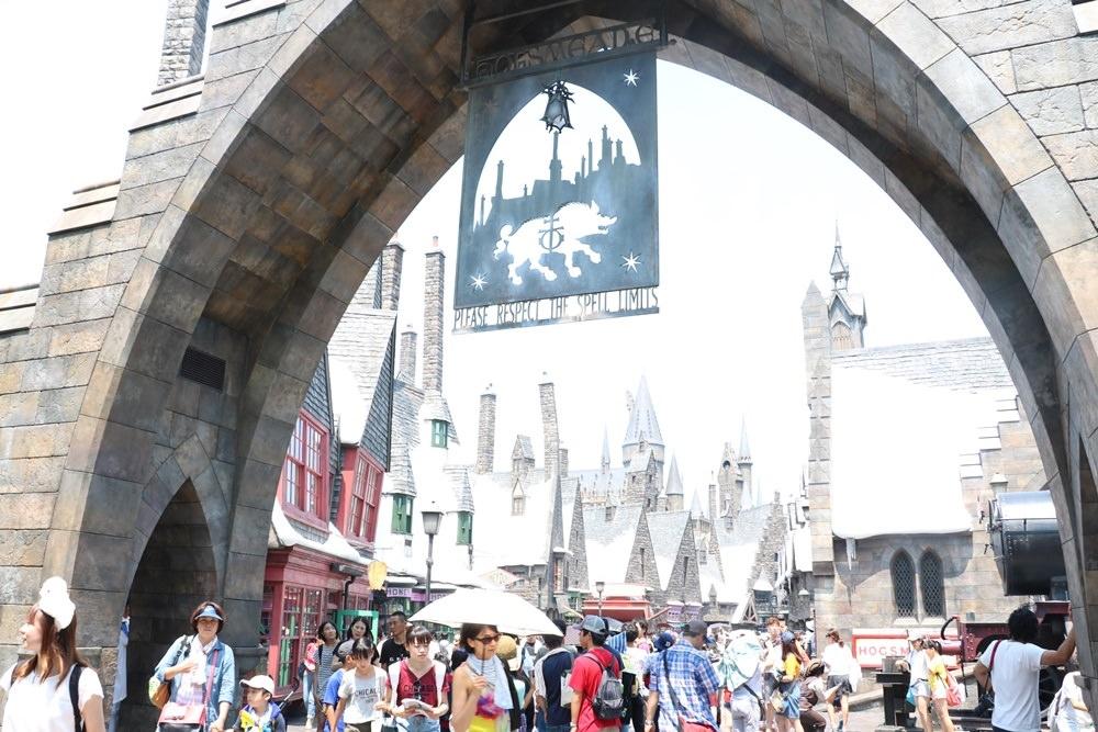 【2016速速大阪遊】大阪環球影城之活米村~哈利波特世界就在你我身邊