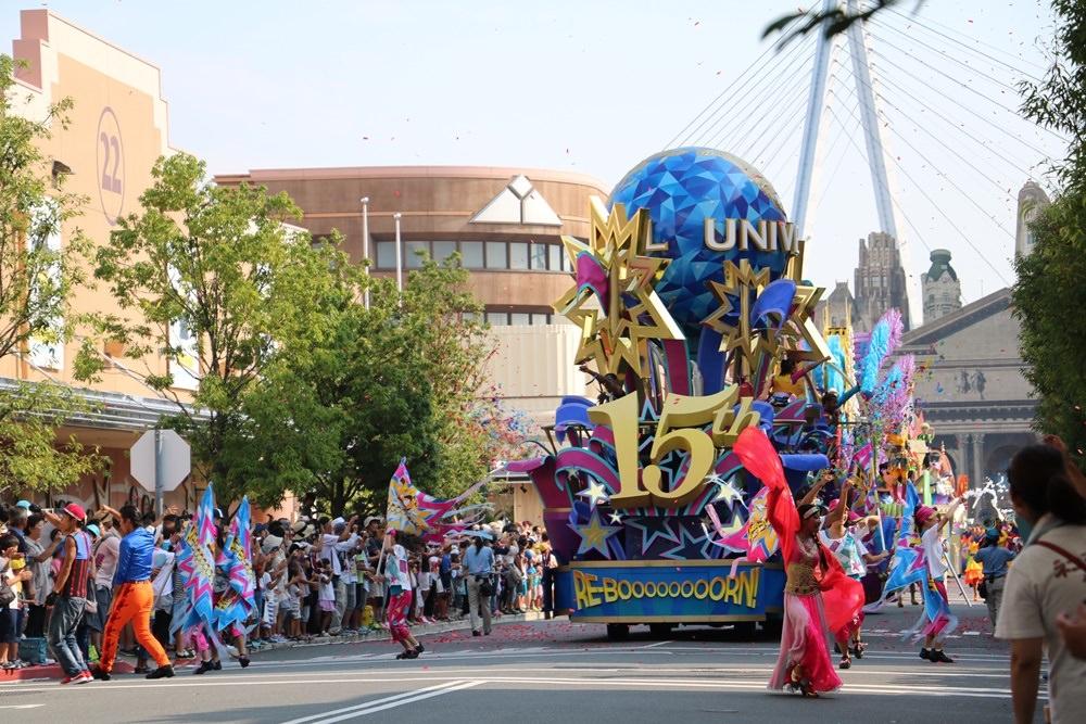 【2016速速大阪遊】大阪環球影城之歡樂大遊行~一同享受遊行的繽紛快樂氣氛ˋ