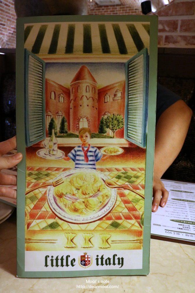 【台中市北區】小義大利餐廳~菜單完整版
