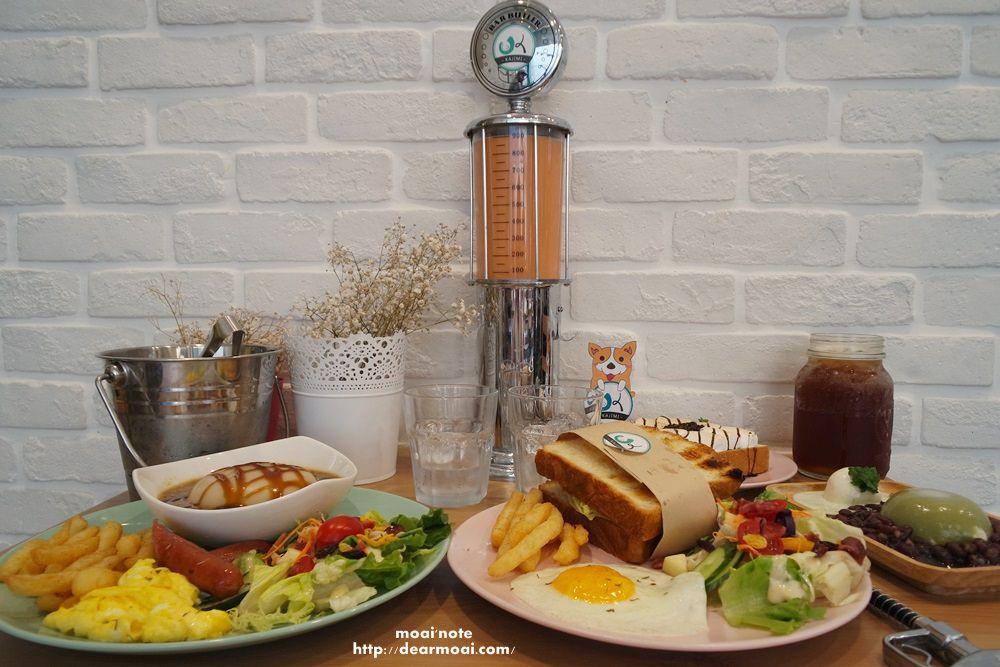 【台中市西區】KaJiMi 咖基米碗粿~自助加油槍奶茶超可愛、IG新地標網美都喜歡