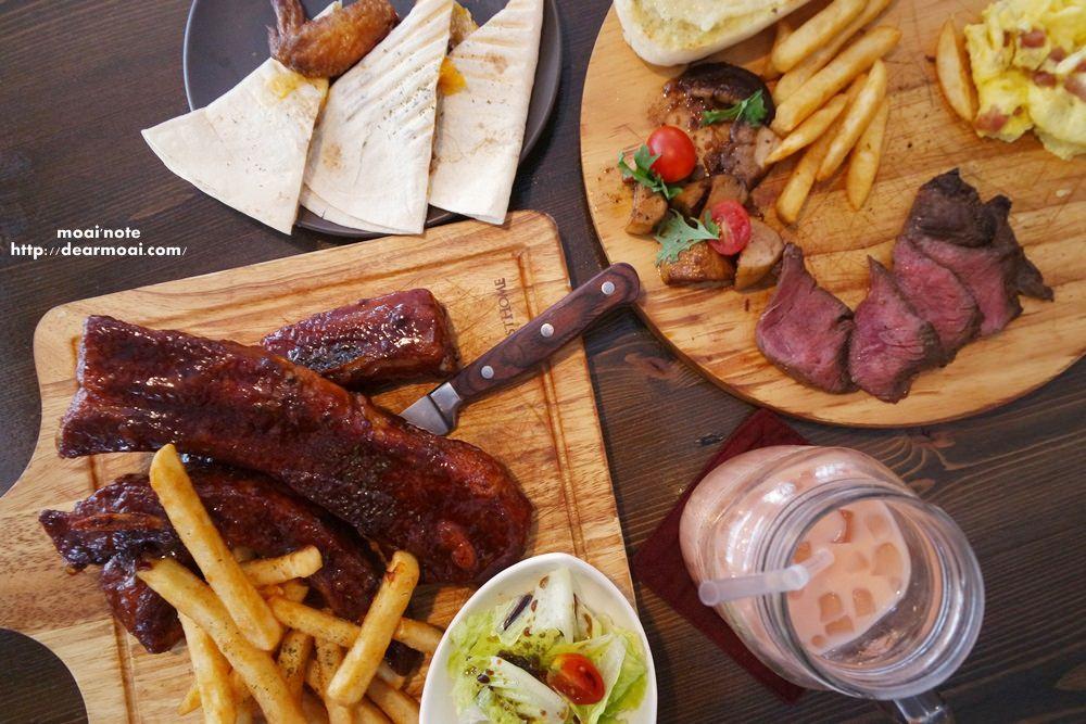 【台中市西屯區】筆堆異國餐廳Bidui Food & Drinks 大墩店~餐點多樣化美式早午餐