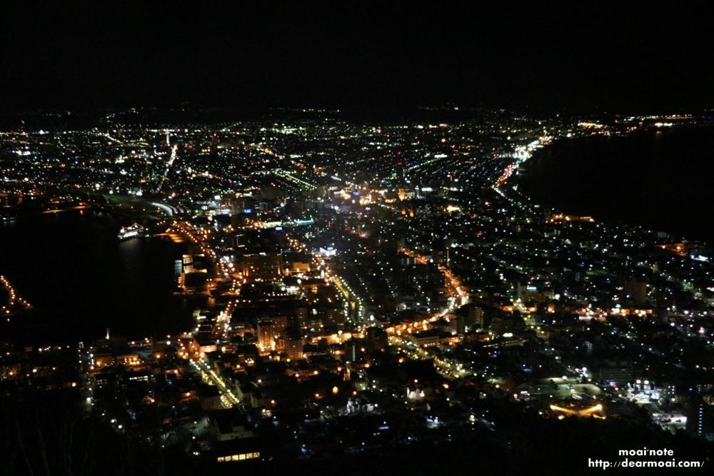 【2017北海道初心自由行】百萬函館山夜景~《米其林綠色指南・日本》最高榮譽三顆星推薦不可不看