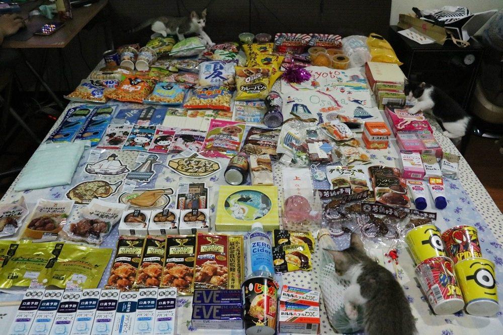 【2016速速大阪遊】大阪戰利品買好買滿買很多~滿滿的回憶都在行李廂裡了啊(恩?)