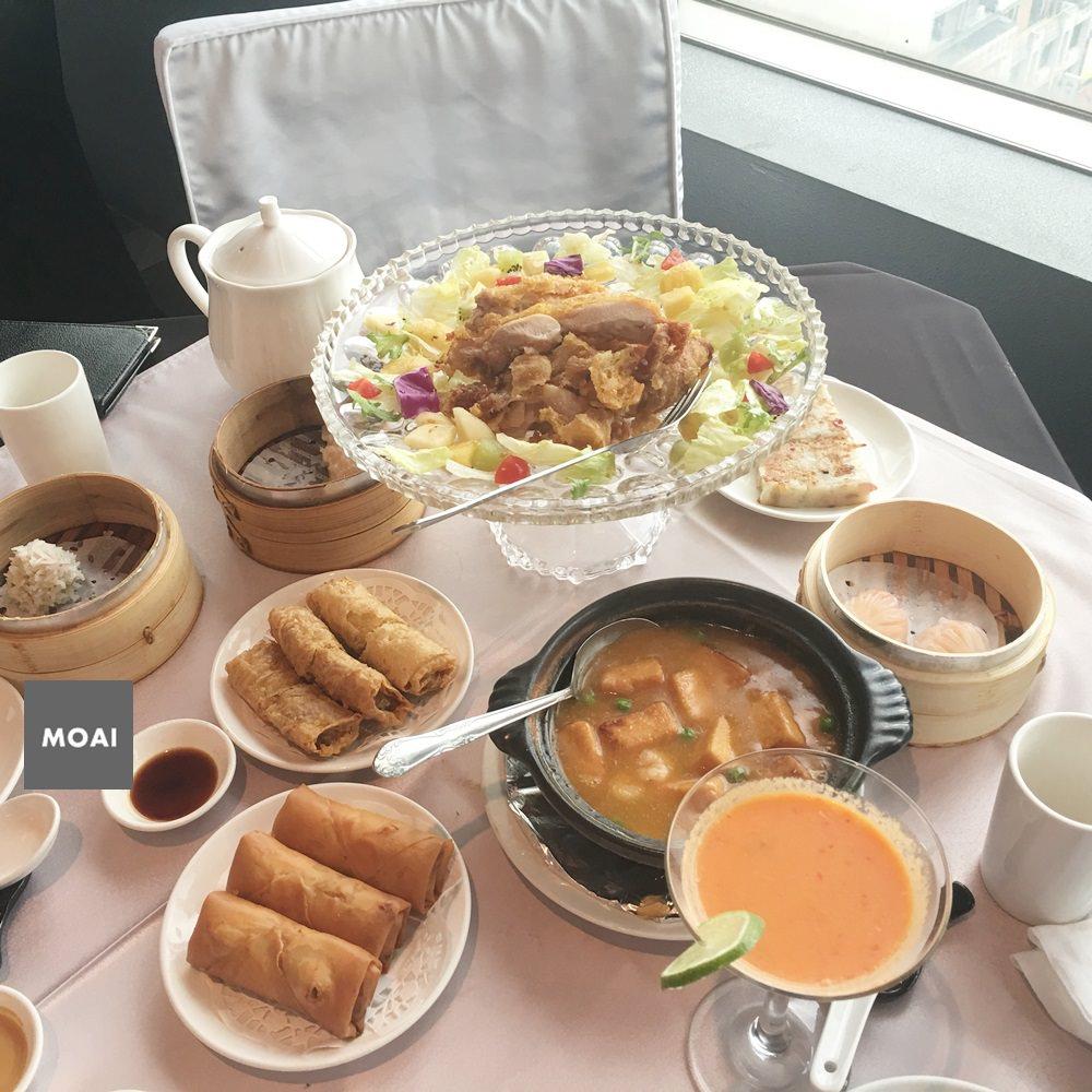 【台中市北區】京悅港式餐廳~百貨公司內飲茶吃飯可歇腿還有風景可看