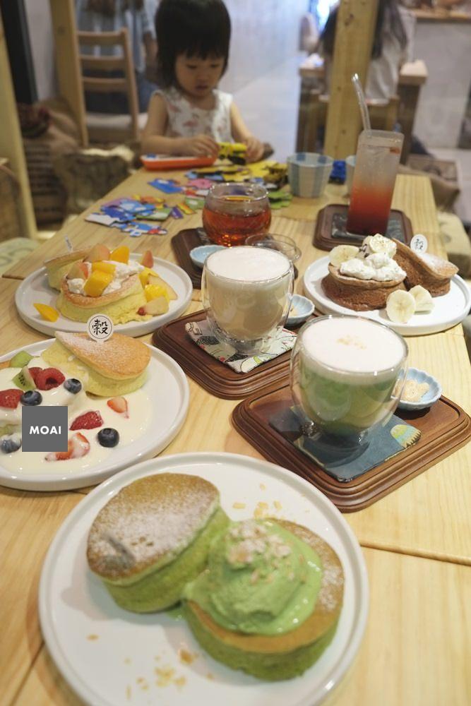 【台北市大安區】koku café 榖珈琲~舒芙蕾鬆餅像是雲朵般綿密輕柔吃起來無負擔!