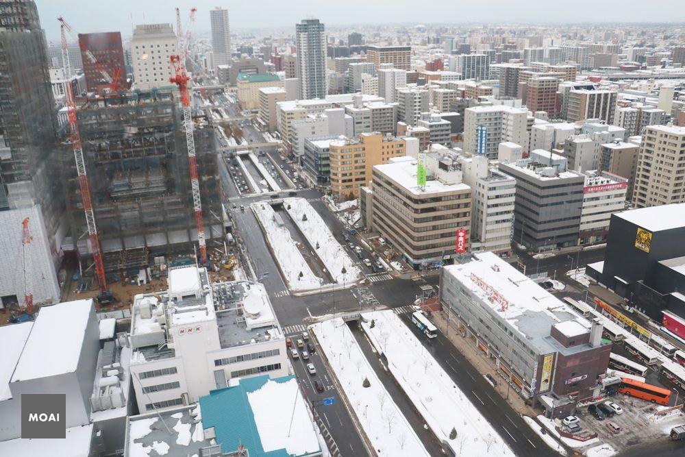 【2017北海道初心自由行】Sapporo Tv Tower札幌電視塔 ~遠眺大倉山、大通公園、札幌街景一覽無遺