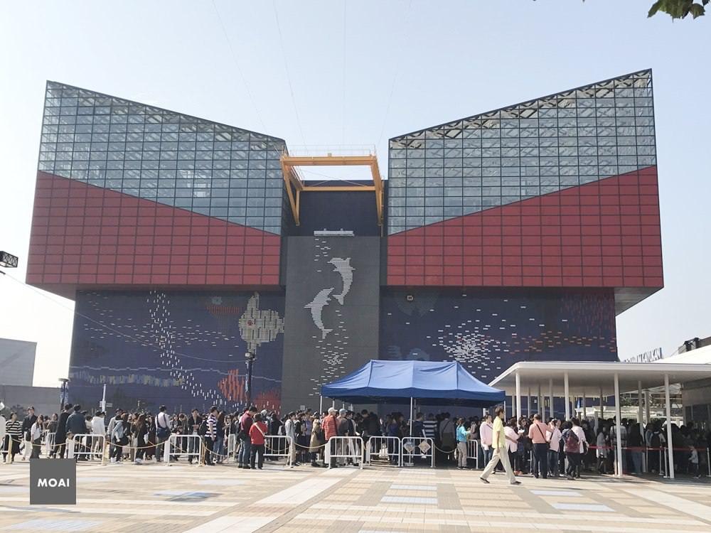 【2017大阪自由散策行】Osaka Aquarium KAIYUKAN海遊館~世界最大的水族館超多海洋生物好稀奇