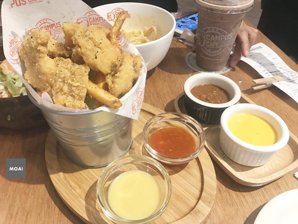 【台中市西區】Campus cafe美式校園輕食餐廳 台中廣三SOGO店~很適合多人聚餐的歡樂氣氛餐廳