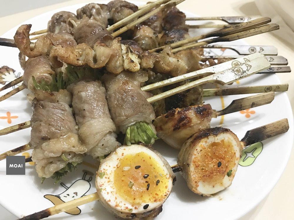 【台中市北區】路邊の炸蝦天婦羅+燃手串~一中商圈質感美食+CP值破表炸物小吃值得一嘗