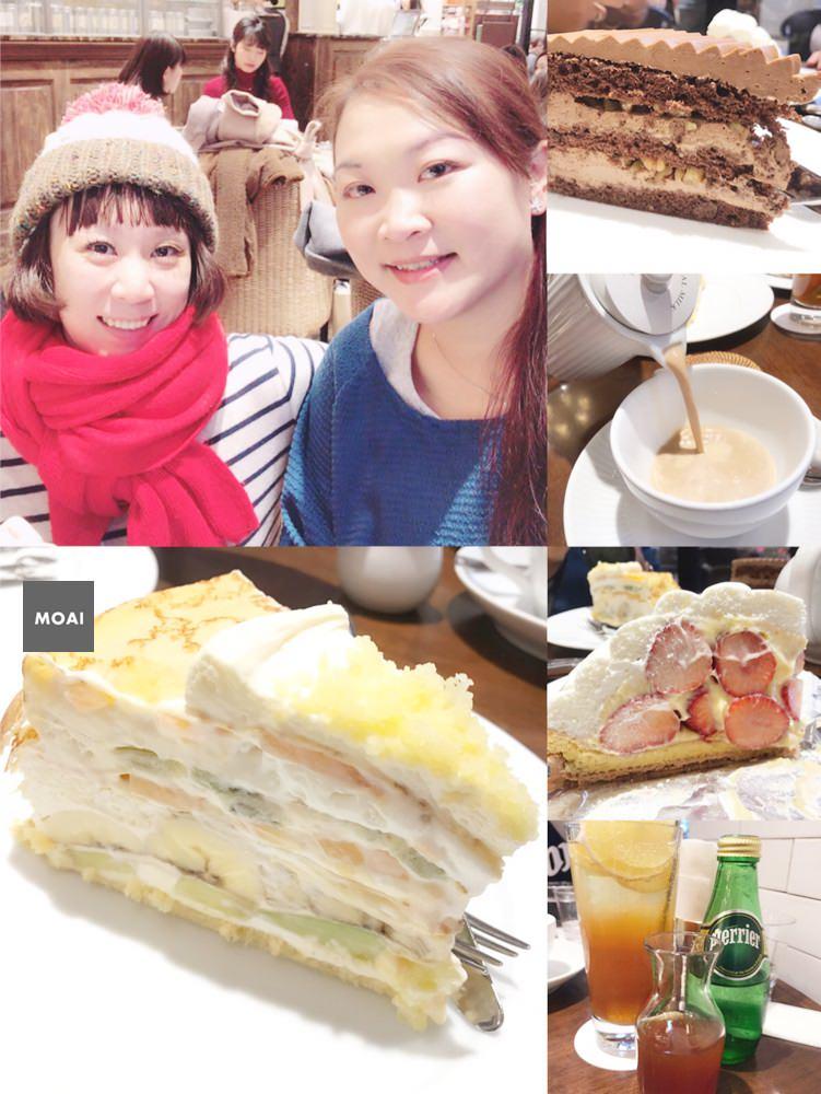 【2017東京女子輕旅行】HARBSハーブス ルミネ池袋店~終於吃到HARBS蛋糕感謝茉莉感謝老天鵝!