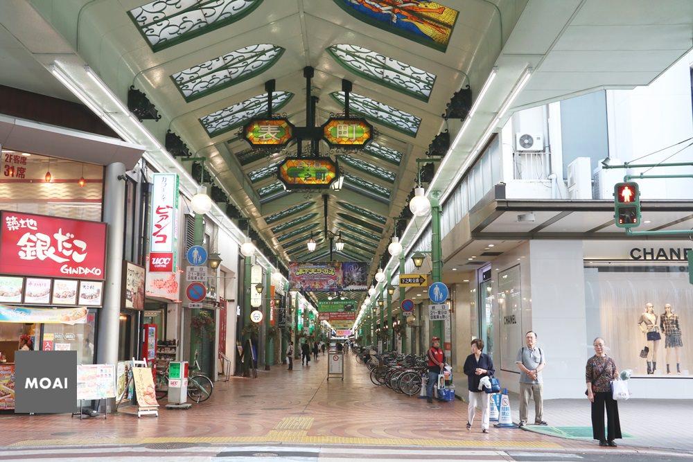 【2018岡山微旅遊】岡山表町商店街~第一次逛到這麼。。。。沒落的商店街覺得失落!