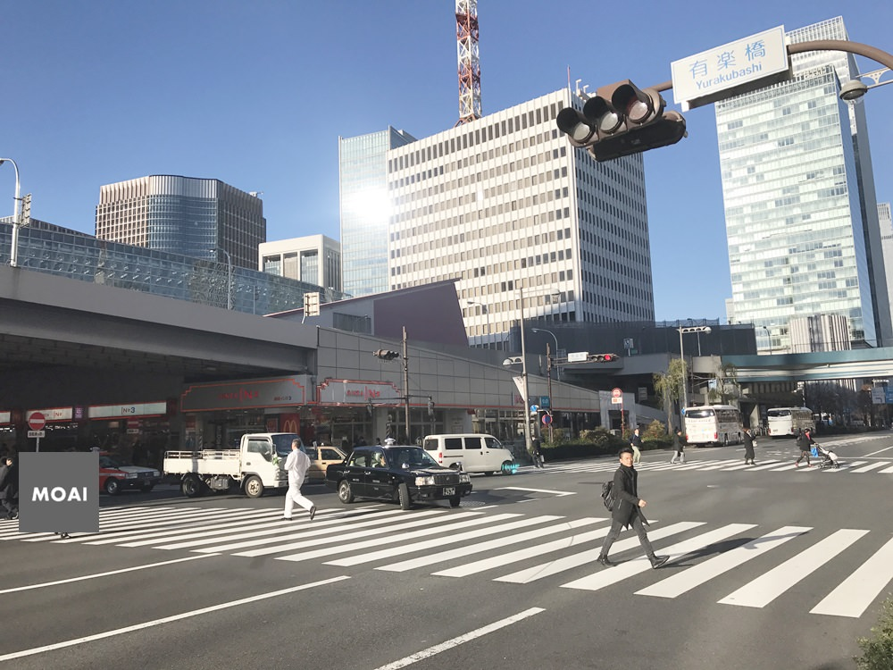 【2017東京女子輕旅行】銀座有樂町隨走~滿街都是滿滿物產店跟人氣排隊店