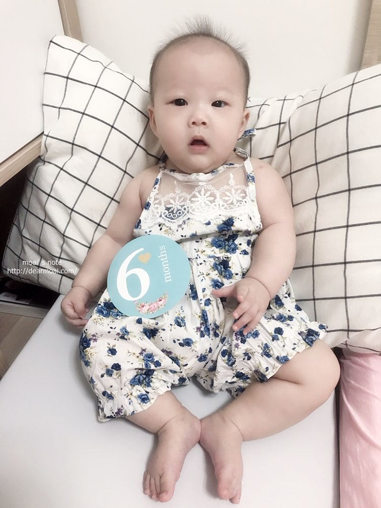 【生活記錄】孩兒六個月流水帳~去婆家住一周、有一點會爬、第一次發燒