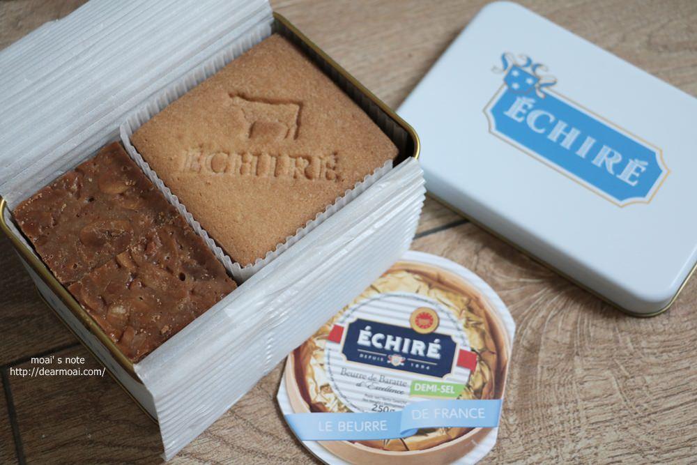 【日本點心】法國高級艾許奶油ECHIRE餅乾~超貴但是真的很好吃