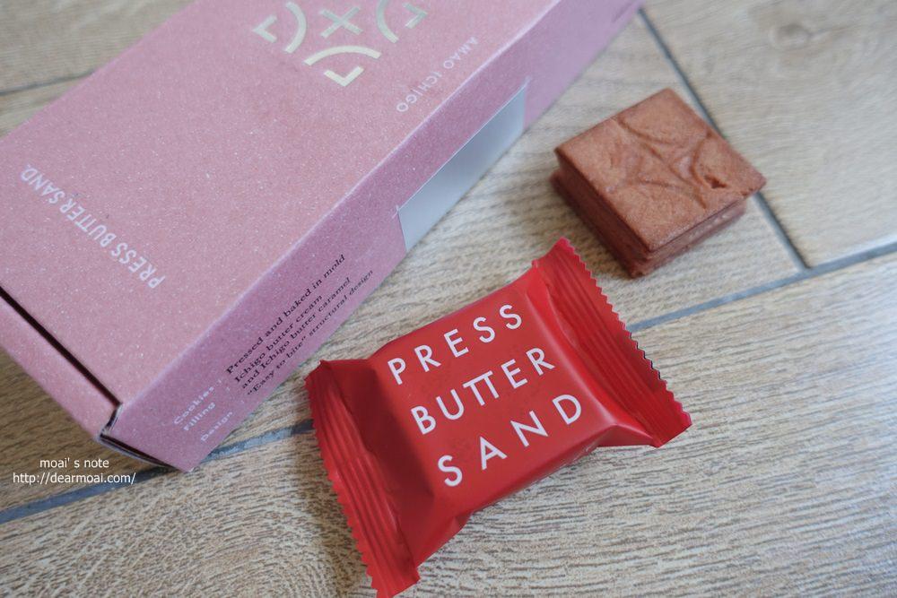 【日本點心】press butter sand 草莓奶油夾心餅乾~2019福岡博多車站必買伴手禮