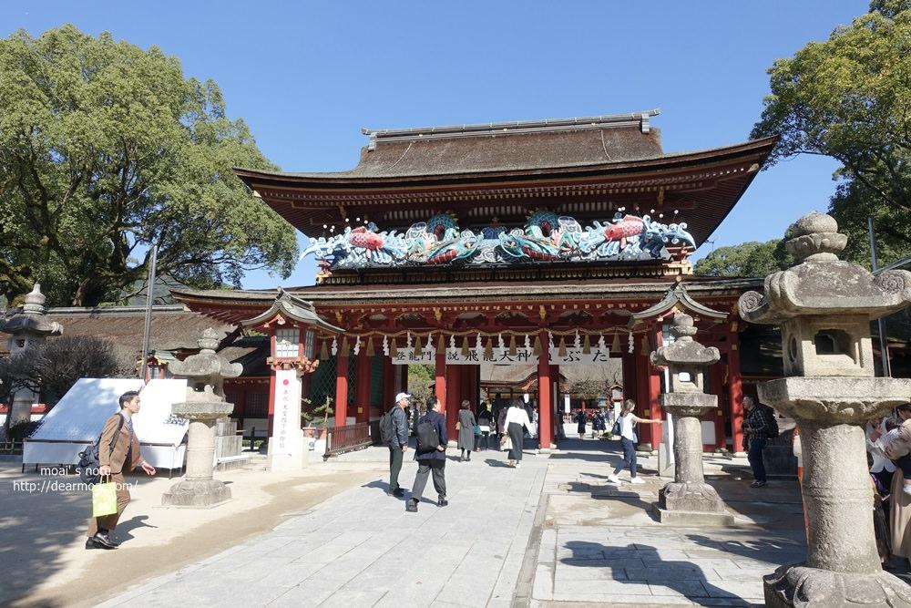 【2019九州博多家族旅遊】再訪太宰府天滿宮~梅枝餅滿滿紅豆香甜好吃