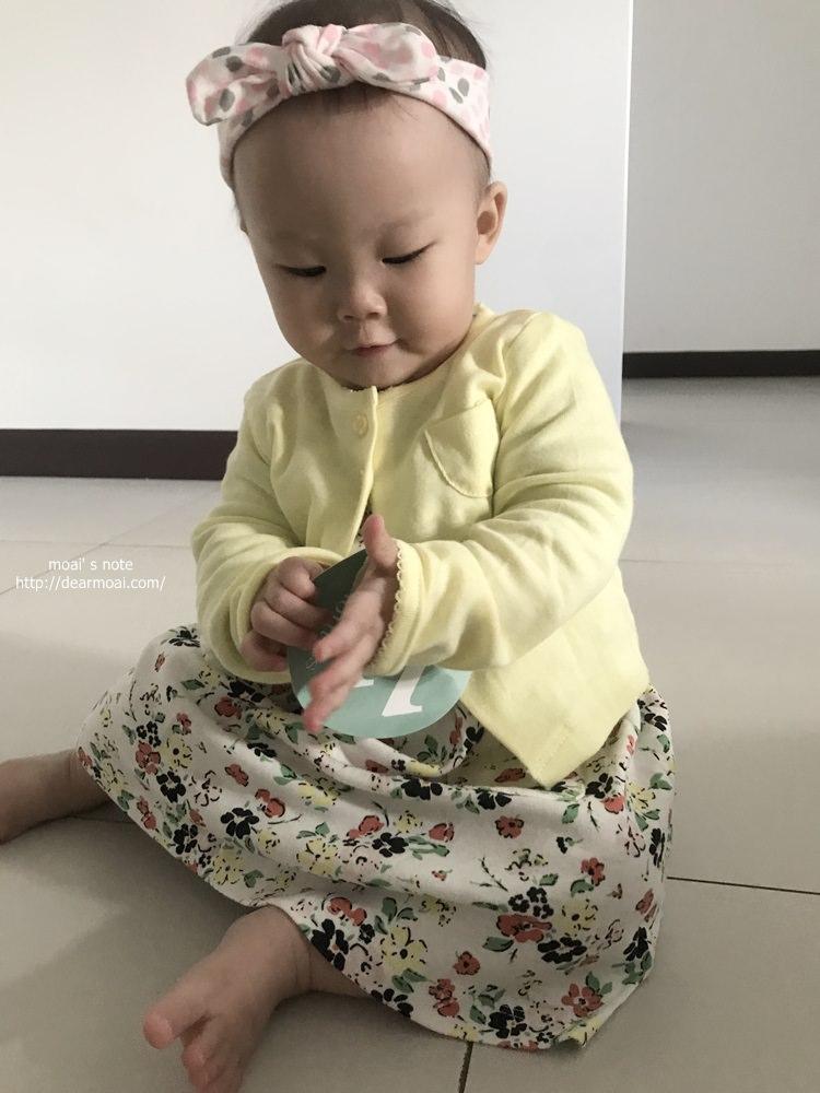 【生活記錄】孩兒十一個月流水帳~開始趴趴走、台南員旅、沖繩遊玩、抓周拍照