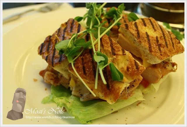 【北市松山區】GaBee.咖啡店~在冠軍咖啡中吃的是飽飽三明治!