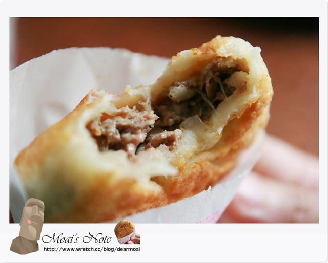 【苗栗縣苗栗市】一口香餡餅、小米粥~熱情的老闆‧果然美味的餡餅