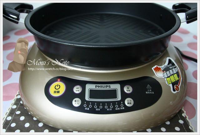 【廣宣】飛利浦黑晶爐HD4990~中秋節就在家無煙燒烤健康一下吧!