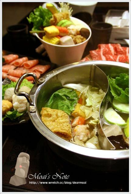 【試吃】東方米蘭精緻鍋物~暖暖鍋物彭派上桌