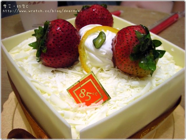 【BIRTHDAY】室友的祝福~85度C草莓香格里拉