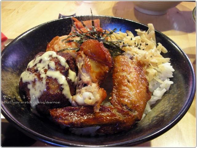 【北市內湖區】丸子公煮~漢堡丼超彭派的美味